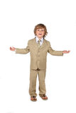 Young boy in suit Royalty Free Stock Images
