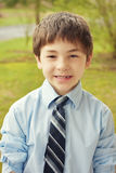 Young Boy In Suit stock photography