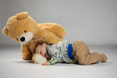 Young boy toddler Stock Photography