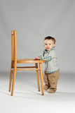 Young boy toddler Stock Images