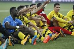 Young Boys Berne v FC Naples Liga Europa Stock Photos