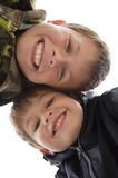 Young boys smiling Stock Photos
