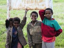 Young boys, Amhara, Ethiopia royalty free stock image