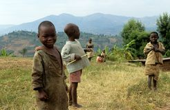 Young boys in Uganda Stock Photography