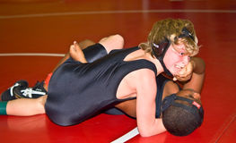 Free Young Boys Wrestling Stock Photography - 12167402