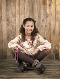 Young brazilian girl Stock Photography
