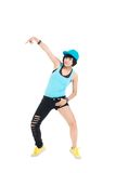 Young break-dancer Stock Image