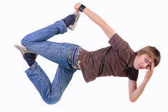 Young breakdancer posing. Stock Photos