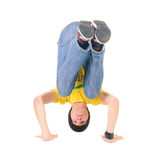 Young breakdancer posing. Stock Images