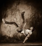 Young breakdancer Stock Image