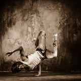Young breakdancer Royalty Free Stock Images