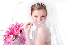 Young bride Royalty Free Stock Image