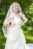 Young bride with braces Stock Images