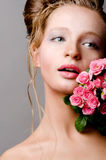 Young bride portrait Royalty Free Stock Photography