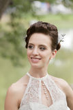 Young bride portrait Royalty Free Stock Image