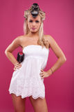 Young bride preparation Royalty Free Stock Photo