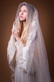 Young bride in studio Stock Image