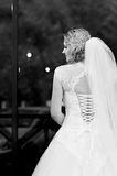 Young bride at the wedding day Stock Images
