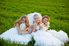 Young brides Royalty Free Stock Image