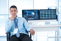 Young broker Stock Photography