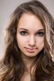 Young brunette beauty Stock Photos