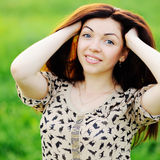 Young brunette Stock Photos