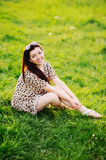 Young brunette Royalty Free Stock Image
