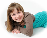 Young brunette girl Royalty Free Stock Photo