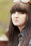 Young Brunette Girl Royalty Free Stock Photos