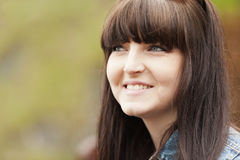 Young Brunette Girl Stock Photo