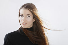 Young Brunette Model Royalty Free Stock Images