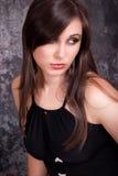 Portrait beautiful brunette royalty free stock photography