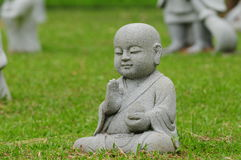 Young Buddha Statue Royalty Free Stock Photography