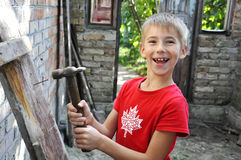 Young Builder Royalty Free Stock Photos