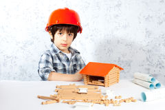 Young builder Royalty Free Stock Photography