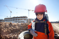 Young builder Stock Photos