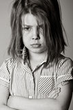 Young Bullied Schoolgirl Royalty Free Stock Images