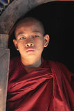 Young Burmese monk Stock Photos