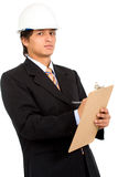 Young business architect Stock Photography
