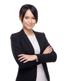 Young business asian woman standing Stock Image