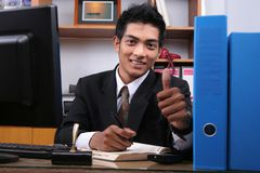 Young Business Executive Stock Photography