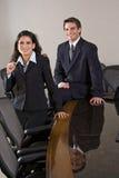 Young business executives royalty free stock photos