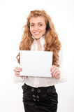 Young business female Stock Photography