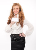 Young business female Royalty Free Stock Photography