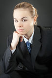 Young business lady Stock Photos