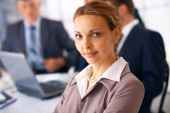 Young Business Lady. stock image