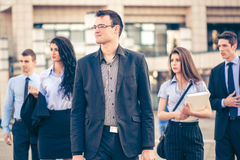 Young Business Leader Royalty Free Stock Photos