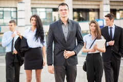 Young Business Leader Stock Photo