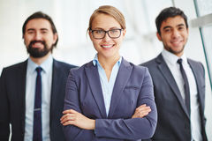 Young business leader Royalty Free Stock Photography