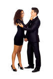Young Business Loving Couple Royalty Free Stock Photo